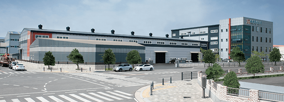کارخانه جرثقیل سامسونگ کره جنوبی